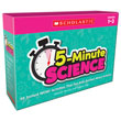 5-Minute Science: Grades 1-3: Instant WOW! Activities That Get Kids Excited About Science