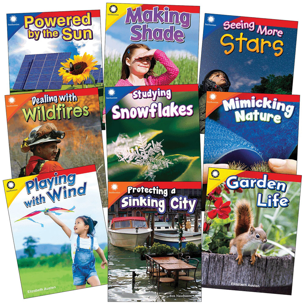 Smithsonian Informational Text: The Natural World 9-Book Set - Grades K-2