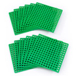Plus-Plus Baseplate 12 Pack - Green