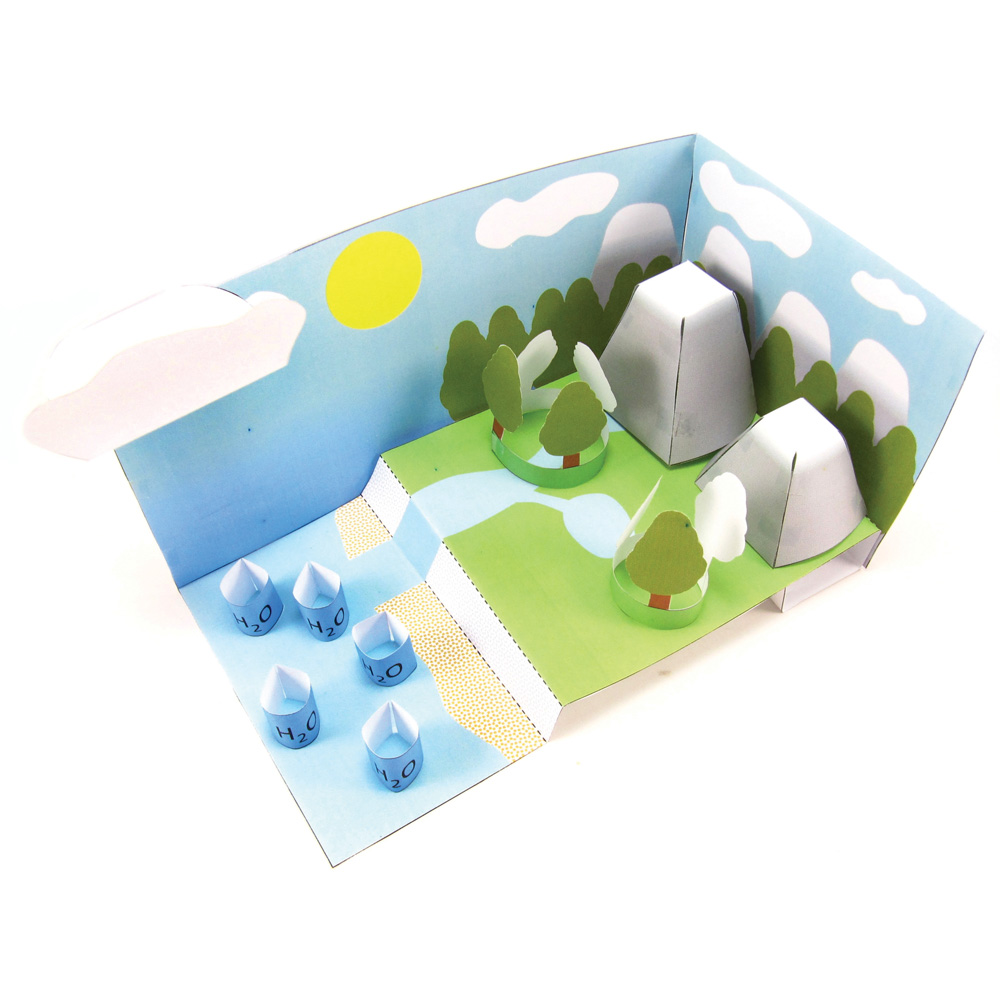 Water Cycle 3 D Model Making Kit New Teacher Supplies Educational Resources Eai Education