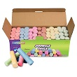 Creativity Street® Sidewalk Chalk - Assorted Colors - 52 Pieces