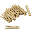 Clothespins: Wooden w/ Spring - Set of 24