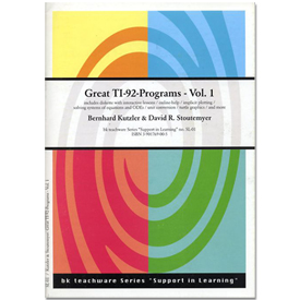 Great TI-92-Programs-Vol.+Disk