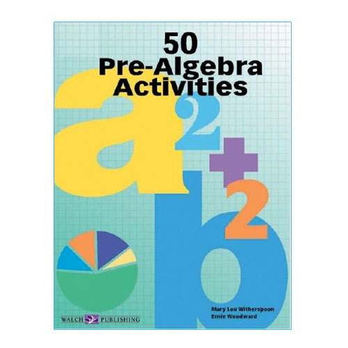 50 Pre-Algebra Activities - Math Manipulatives, Supplies & Resources ...