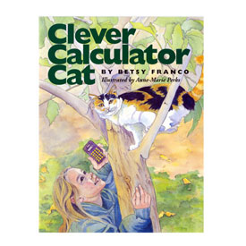 Clever Calculator Cat - Story Book