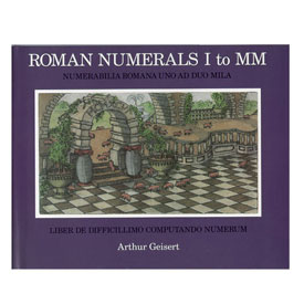 Roman Numerals I To MM