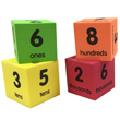 QuietShape® Place Value Cubes: Ones to Thousands - Set of 24