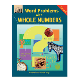 Word Problems with Whole Numbers