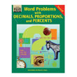 Word Problems with Decimals, Proportions and Percents