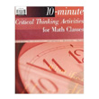 10-Minute Critical Thinking Activities