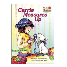 Math Matters®: Carrie Measures Up - Fractions