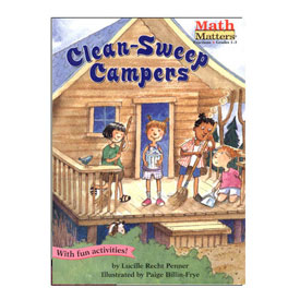 Math Matters®: Clean-Sweep Campers - Fractions