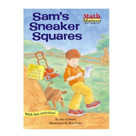 Math Matters®: Sam's Sneaker Squares - Area