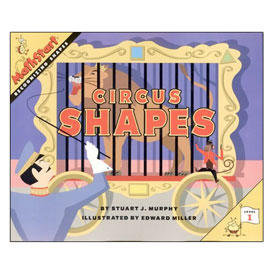 MathStart® Level 1: Circus Shapes - Recognizing Shapes