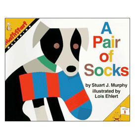 MathStart® Level 1: A Pair of Socks - Matching