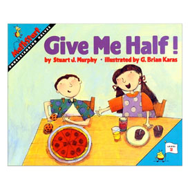 MathStart® Level 2: Give Me Half! - Understanding Halves