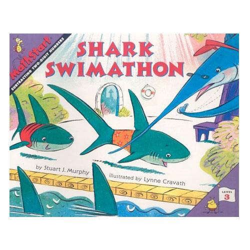 Mathstart Level 3 Shark Swimathon Subtracting Two Digits Math Literature Eai Education