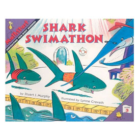 MathStart® Level 3: Shark Swimathon - Subtracting Two-Digits