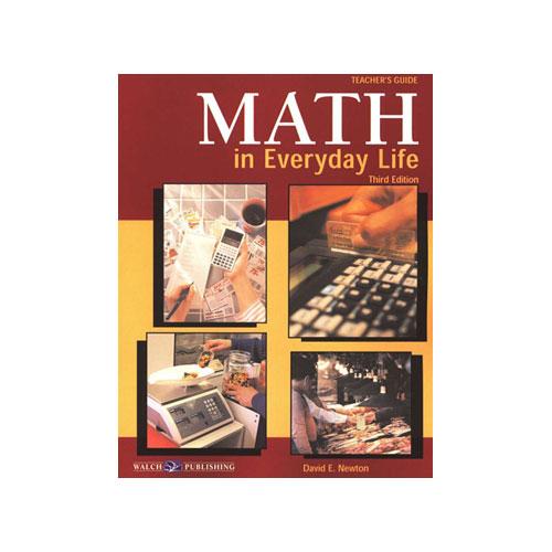 10 Ways We Use Math Everyday