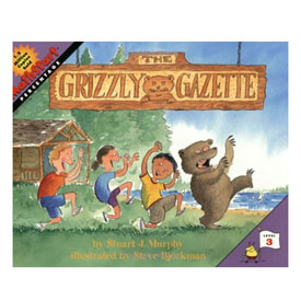 MathStart® Level 3: The Grizzly Gazette - Percentage