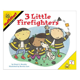 MathStart® Level 1: 3 Little Firefighters - Sorting