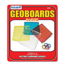 An Adventure in Mathematics: The Geoboard Collection