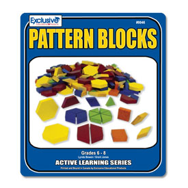 Pattern Blocks for Grades 6-8