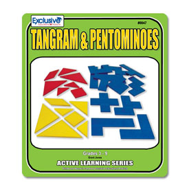 The Puzzling World of Tangrams and Pentominoes
