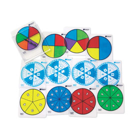 Desk/Transparent Probability Spinner Set