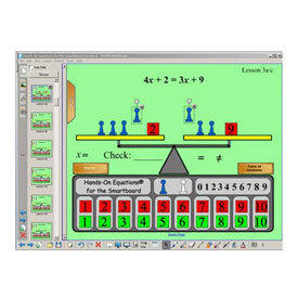 Hands-On Equations® for the SMART Board - Five User License