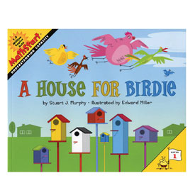 MathStart® Level 1: A House for Birdie - Understanding Capacity