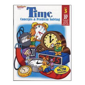 Time: Concepts & Problem Solving - Grade 3