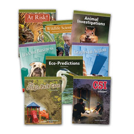 Data Analysis and Probability Set of 8 Titles: Grades 3-5