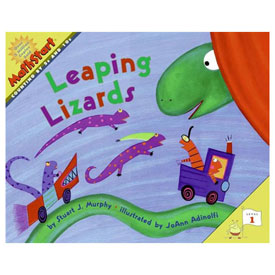 MathStart® Level 1: Leaping Lizards - Counting by 5s and 10s