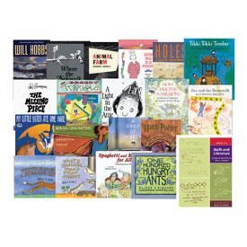 Math and Literature Book Set: Grades 6-8