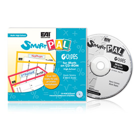 SmartPAL® Guides Reproducible Worksheets for Math: High School (CD-ROM only)
