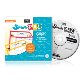 SmartPAL® Guides Reproducible Worksheets for Math: Grades 3-5 (CD-ROM only)