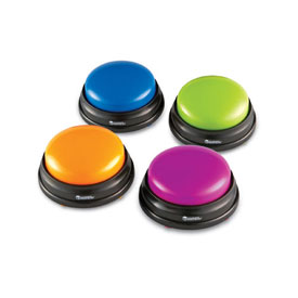 Answer Buzzers - Set of 4
