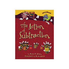 Math is CATegorical® The Action Of Subtraction - Hardcover
