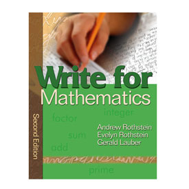 Write for Mathematics, 2nd Edition