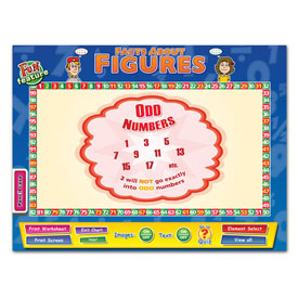 Facts About Figures Whiteboard Chart CD-ROM