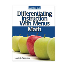 Differentiating Instruction With Menus 3-5: Math, 2nd Edition