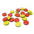 "Magnetic 1"" Two-Color Counters - Set of 40"