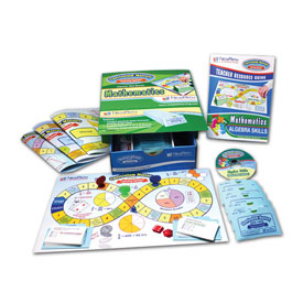 Algebra Skills Curriculum Mastery® Game - Class-Pack Edition