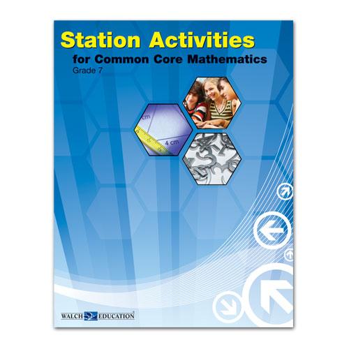 station activities for common core mathematics grade 7