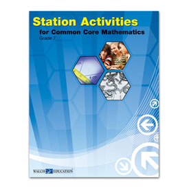 Station Activities for Common Core Mathematics: Grade 7