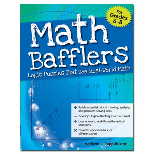 Math Bafflers Logic Puzzles That Use Real World Math Book 2