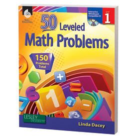 50 Leveled Math Problems: Level 1