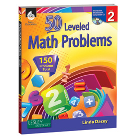 50 Leveled Math Problems: Level 2