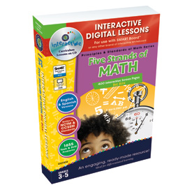 Five Strands of Math: IWB Digital Lesson Plans Gr. 3-5